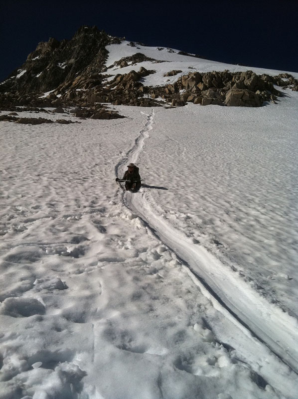 Glissading in the Sierra