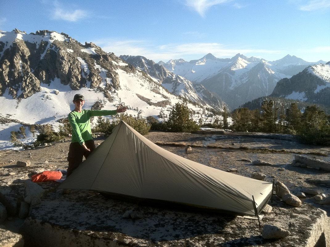 Kearsarge Pass camping