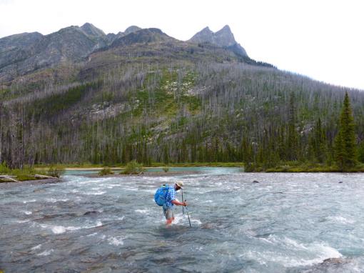 Moose River Ford, Mt Robson Provincial Park