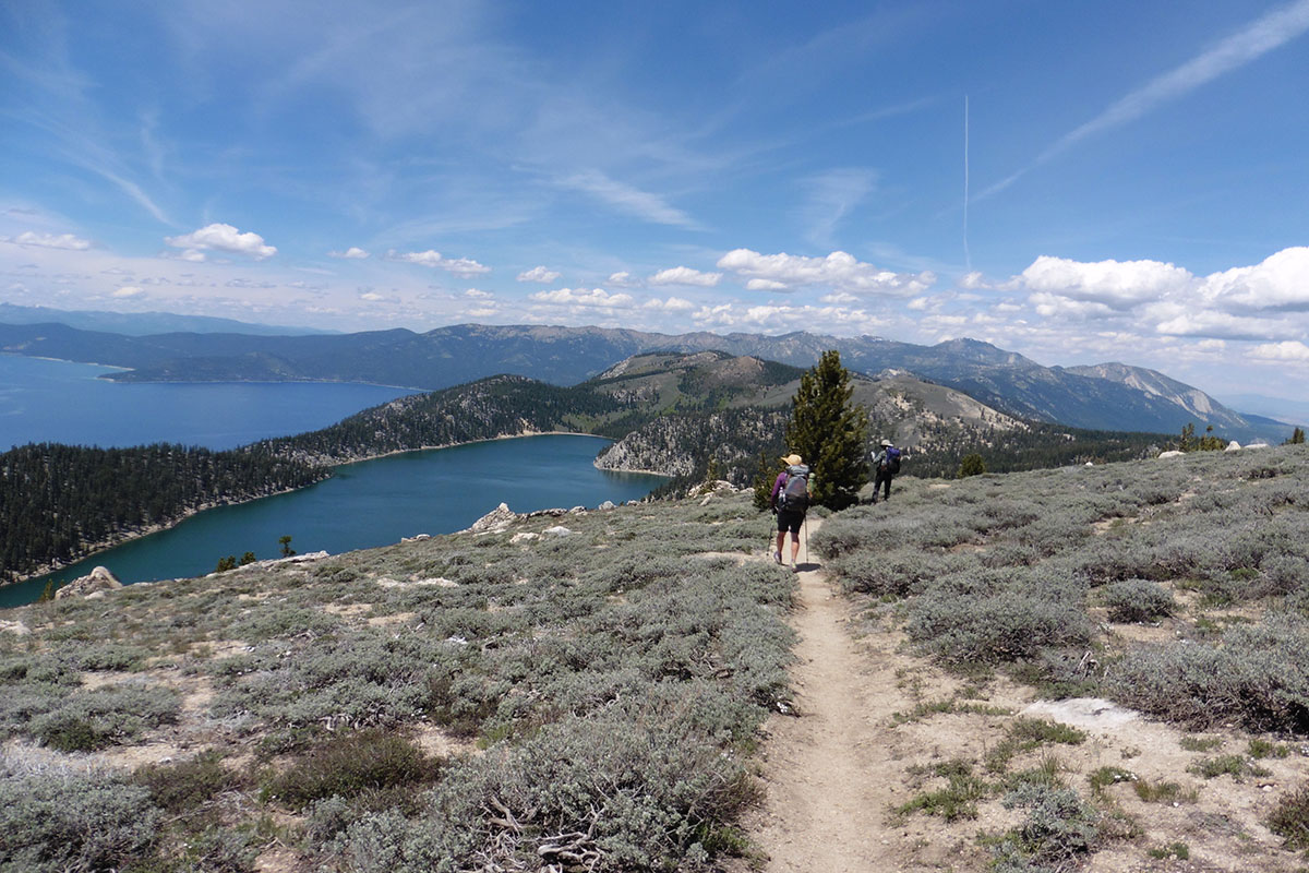 Noth Canyon area with Lake Tahoe and Marlene Lake