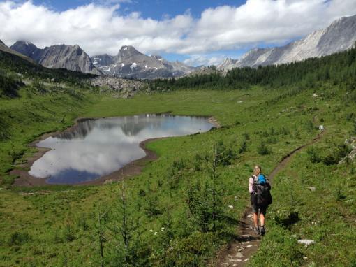 Peter Lougheed Provincial Park near Turbine Canyon