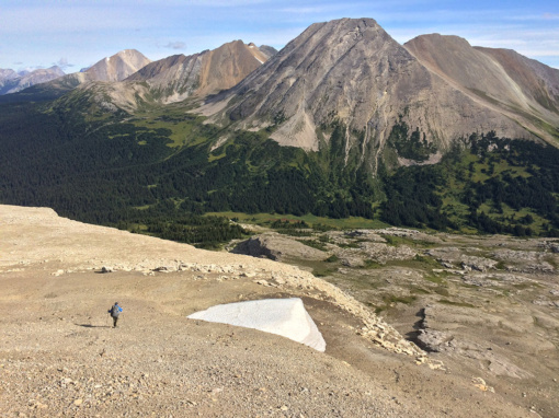 Providence Pass with Broadview Mtn, Willmore Wilderness, PC Elizabeth Morton