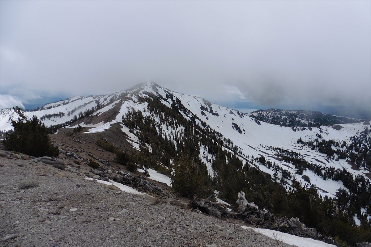 Relay Peak, Tahoe Rim Trail