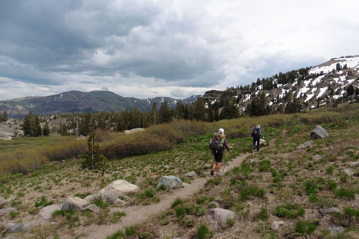 South end, Tahoe Rim Trail
