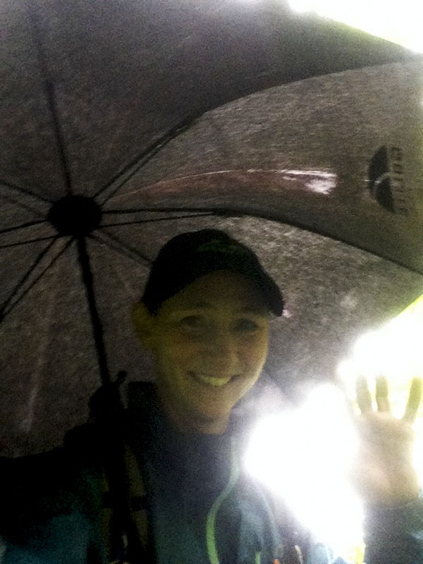 Staying sheltered with the Chrome Umbrella.jpg