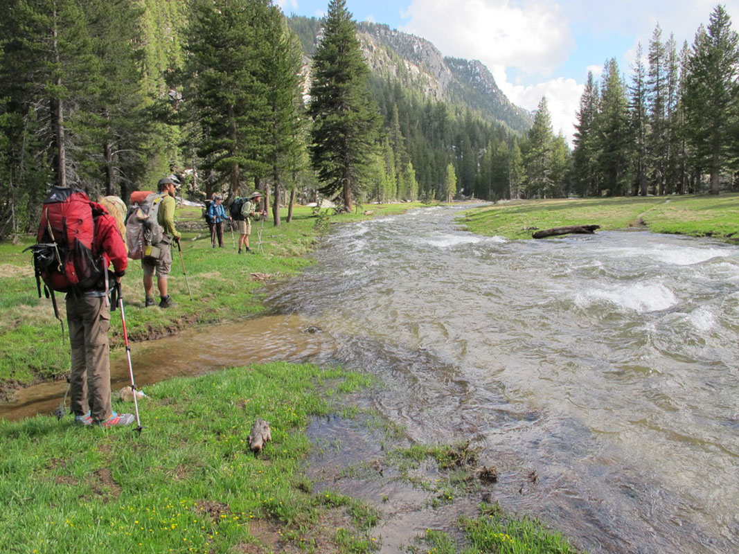 Stream Crossing, PCT