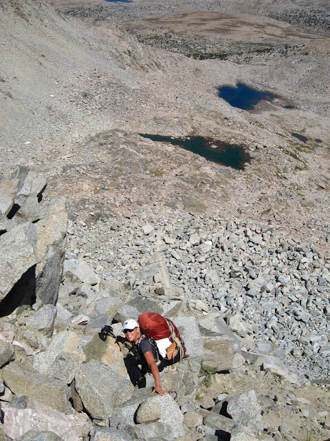 Talus on the Sierra High Route