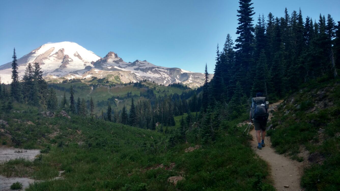 Southeast side of Rainier. PC Brian Tanzman