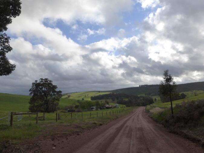Day 13:Raining Down To Balingup
