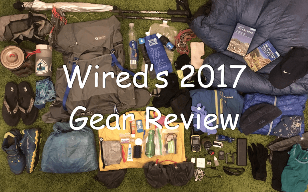 Wired's 2017 Comprehensive Gear Review