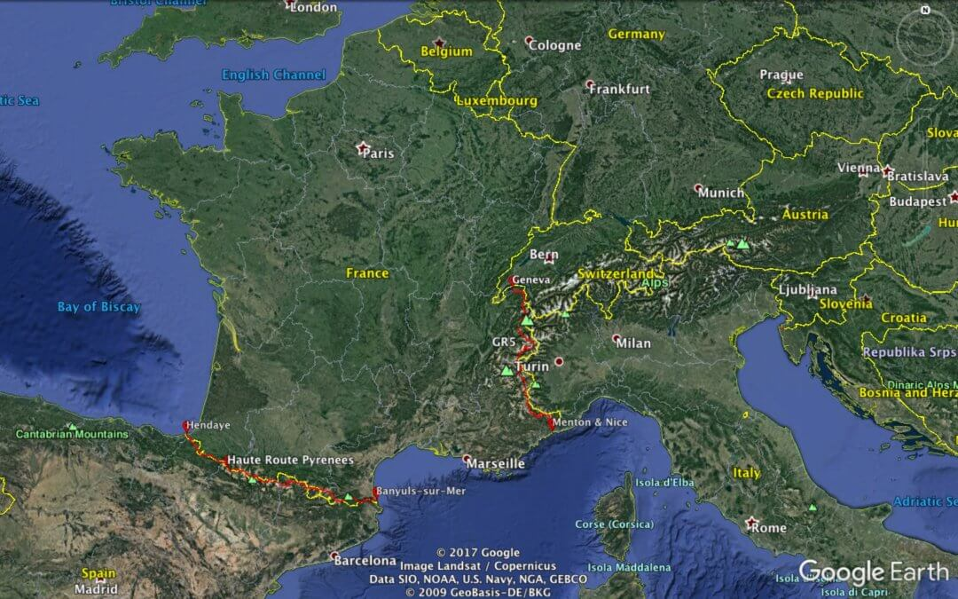Advice for Thru-Hiking the Pyrenees (HRP) & French Alps (GR5)
