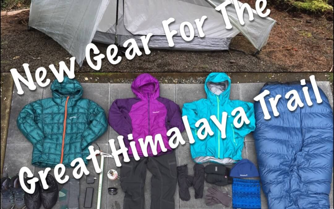 New Gear for the Great Himalaya Trail!