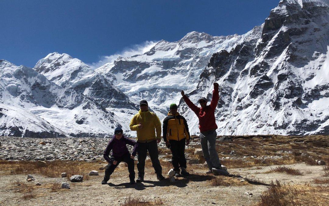 Day 7: Tagging Kanchenjunga Base Camp